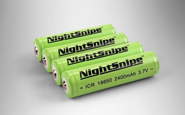 (4) Rechargeable, 10-year rated Lithium Ion batteries