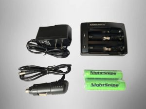2-Port Battery Charger and 2-18650 Batteries