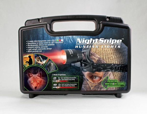NightSnipe Headlamp Case