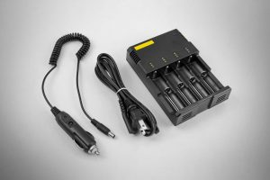 4-Port 18650 Battery Charger