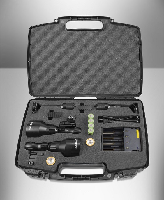 NightSnipe NS550 Class-3 Dimmable Hunting Light Kit