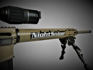 NightSnipe 7 inch Solid Sticker