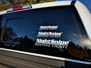 NightSnipe Hunting Lights Stickers