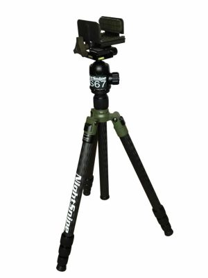 NightSnipe Tournament Hunter Tripod / NS67 Ball Head / Pig Saddle / Marc QD Plate