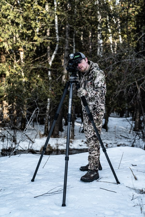 NightSnipe ELITE HUNTER Carbon Fiber Tripod