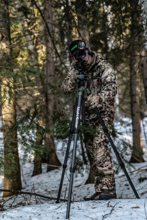 NightSnipe TOURNAMENT HUNTER Carbon Fiber Tripod