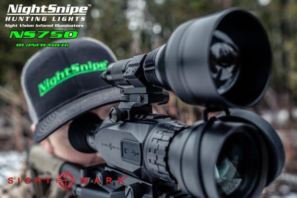 Sightmark Wraith / NightSnipe NS750 IR Illuminator Combo Kit