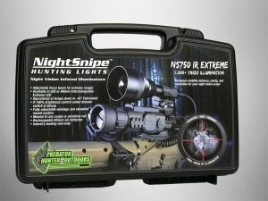 NightSnipe NS750 IR (Infrared) Illuminator Dimmable Hunting Light Kit