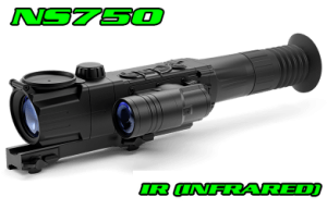 Pulsar Ultra N455 NV Riflescope-Nightsnipe NS750 Extreme Dimmer Infrared Illuminator Hunting light Kit
