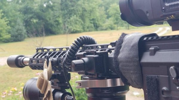 Hunters Custom Light Switch Dimmer Rail Mount (Dial)