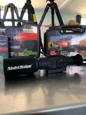 Sightmark Wraith Sun shade, Night vision scope