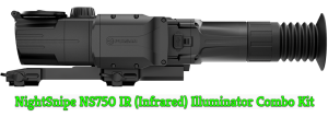 Pulsar Digisight Ultra N450-455 LRF Riflescope / NS750 IR Combo