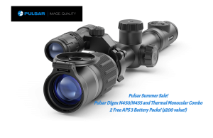 Pulsar Digex N450/N455 and Thermal Monocular Combo (Summer Sale)