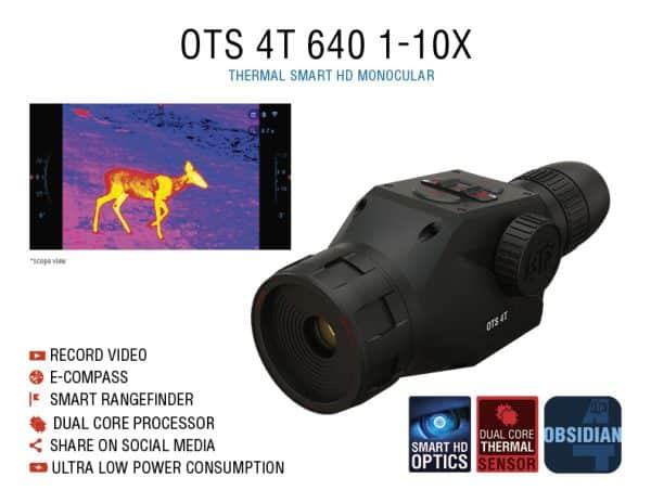 ATN OTS 4T 640 1-10x Thermal Monocular