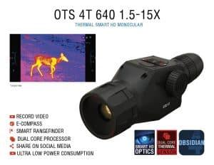 ATN OTS 4T 640 1.5-15x Thermal Monocular