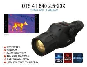 ATN OTS 4T 640 2.5-20x Thermal Monocular